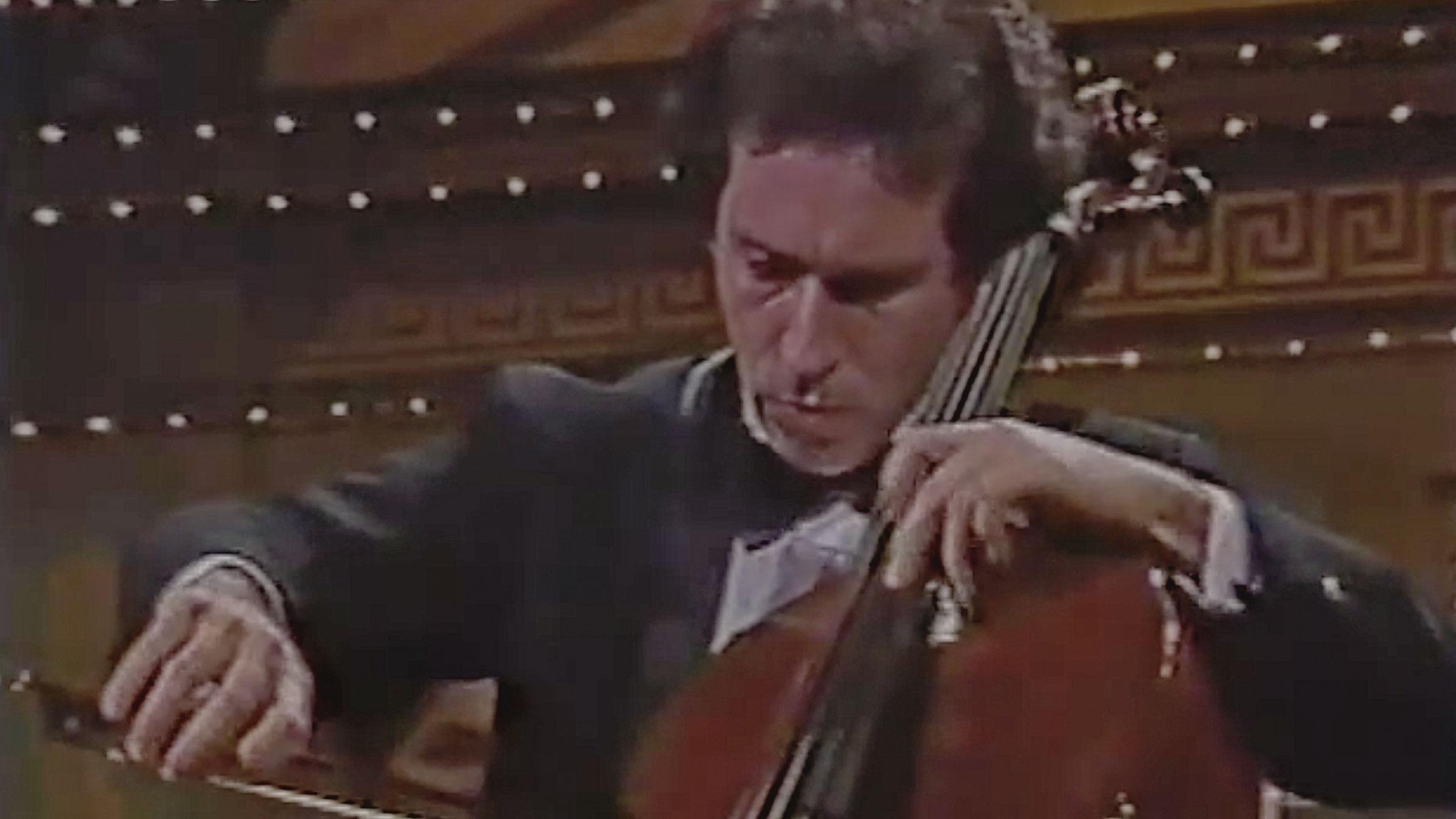 Nathaniel Rosen Plays Rococo variations-II