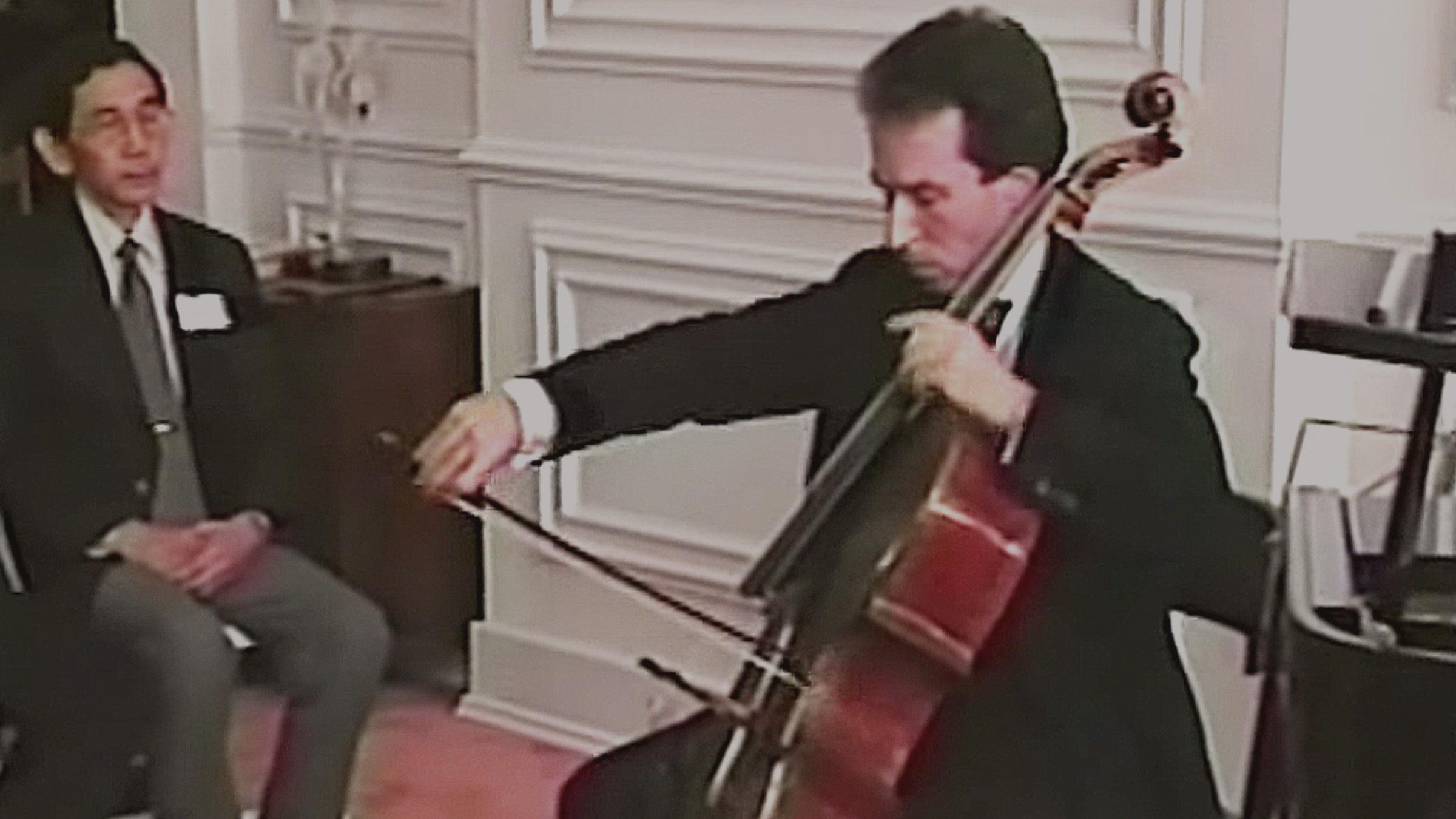Nathaniel Rosen and Ayke Agus perform Debussy Beau Soir