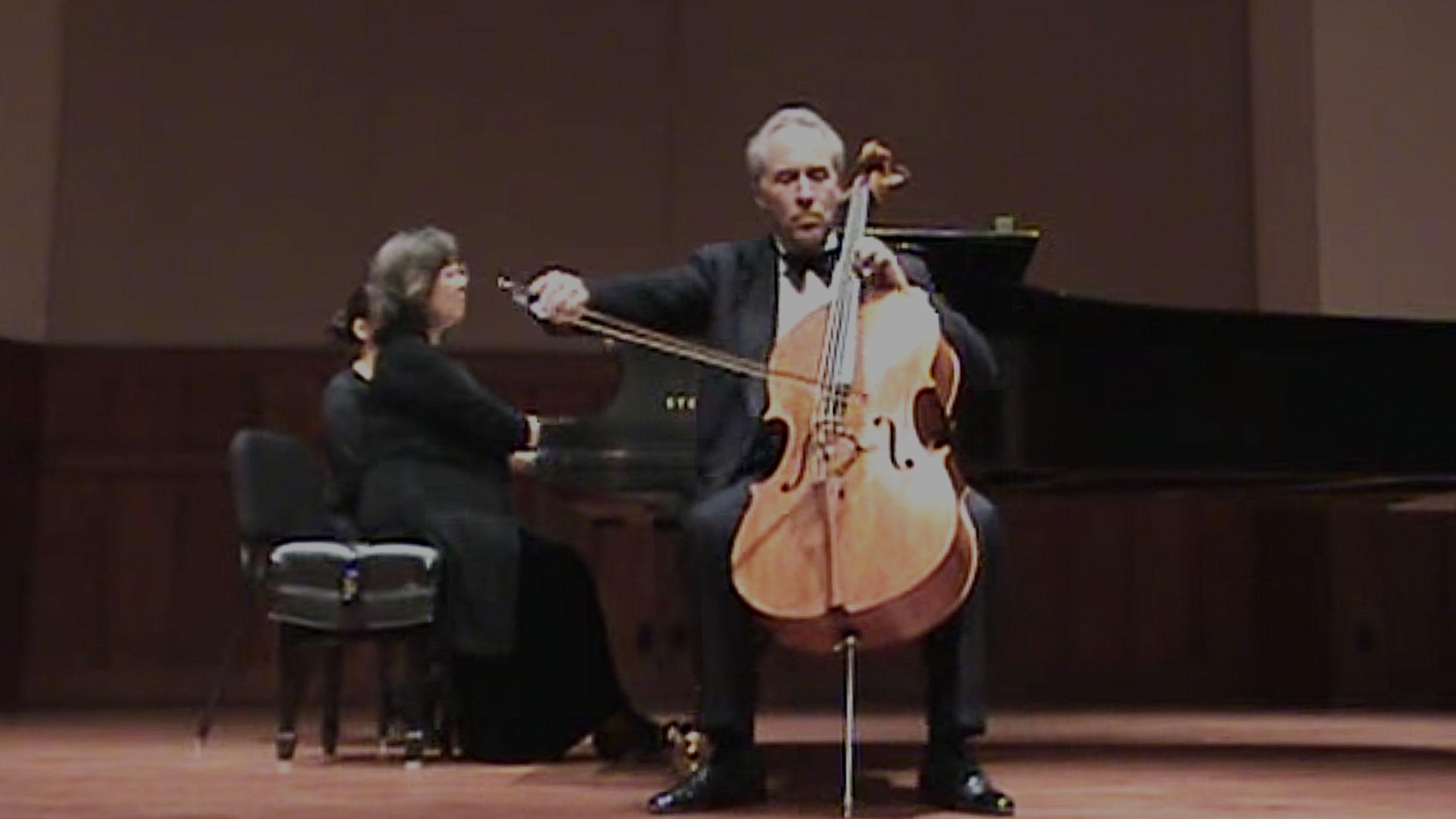 Cellist Nathaniel Rosen Plays Chopin Nocturne
